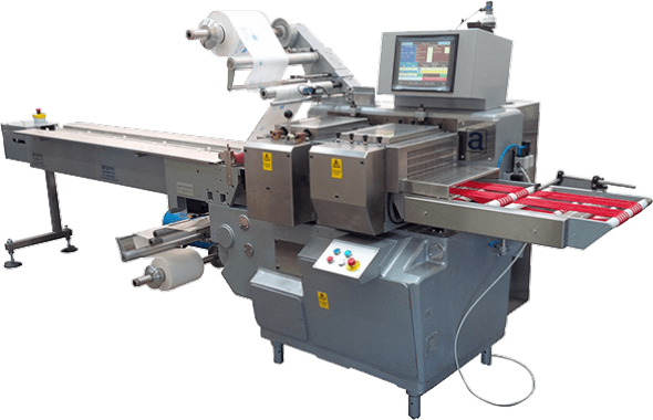 4 side seal machine